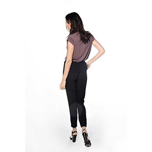 Deeluxe -  Pantaloni  - relaxed - Donna Nero