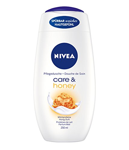 Nivea, Bagno Crema Miele&Latte, 250 ml, 3 pz.