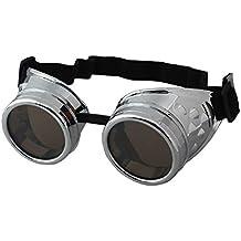 Verrückte Spirale Brille Kostüm TV Raum Brillen-Sonnenbrillen Steampunk Neuheit