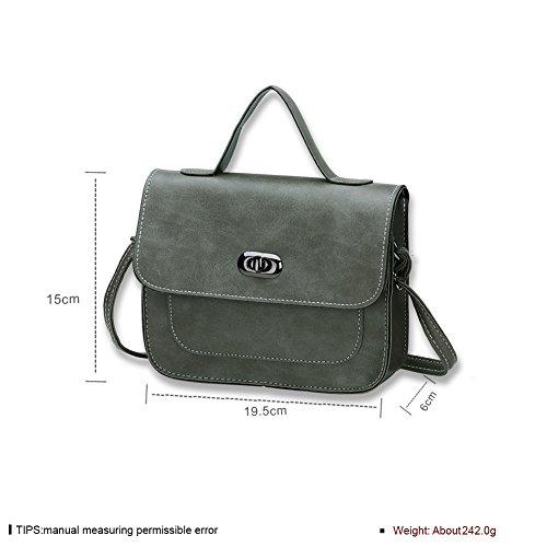 Ladies retrò handbag shoulder bag in Europa e America (colori assortiti)-C B