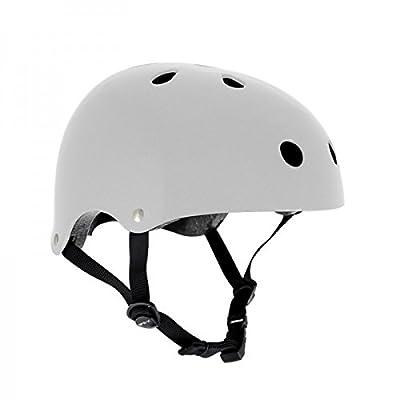 SFR Skateboard / Scooter / Inliner / Rollschuh Schutz Helm - Weiß - Bmx, Inliner, Longboard Helm - Schutzausrüstung Skateboard Helm