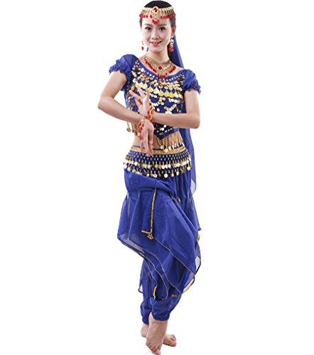 Zubehör Indische Kostüm - Damen Bauchtanz-Komplet Tanzkostüme Indische Kostüm Zubehör