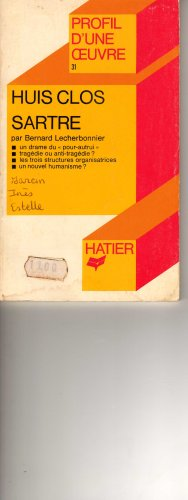 L'Être et le néant: Essai d'ontologie phénoménologique (Bibliothèque des idées) par J-P Sartre