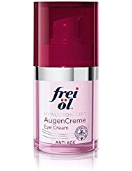 frei öl Anti Age Hyaluron Lift AugenCreme, 1er Pack (1 x 15 ml)