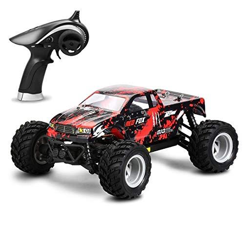 TBFEI 30 Km/H 4WD Racing Radio Elektroauto High Speed   Off-Road Truggy Treiben Spielzeug Fahrzeug for Kinder Jungen Geschenk 1/18 2,4G RC Auto Drahtlose Fernbedienung Monster Truck (Color : B)