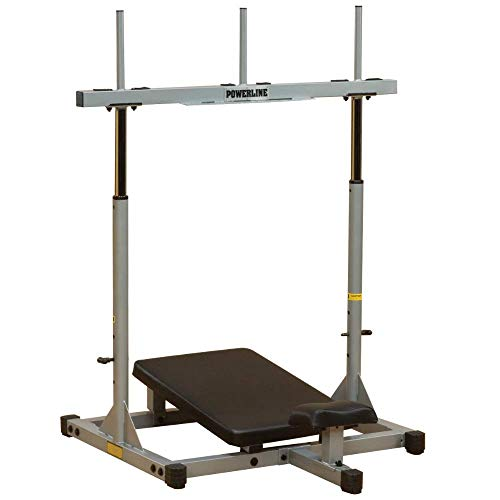BODY-SOLID VLP-156X Powerline-Serie Beintrainer Vertikale Beinpresse Vertical Leg Press 30-mm-adapter