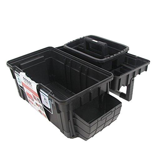 Kunststoff Werkzeugkoffer Formula HD BOX Trophy 1 Plus, 80x35cm Kasten Werzeugkiste Sortimentskasten Werkzeugkasten Anglerkoffer - 6