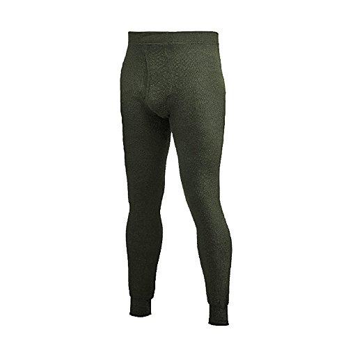 Woolpower - Intimo unisex lungo, 400 g Verde - verde