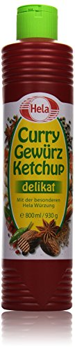 Hela Curry Gewürz Ketchup delikat, 800 ml Test