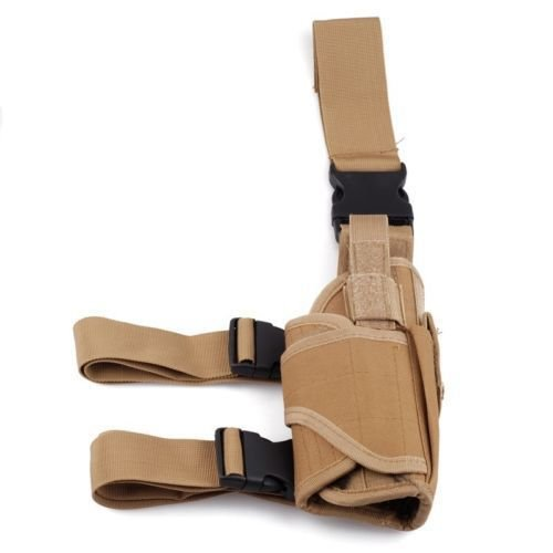 Tiefziehholster Pistolenholster Molle Airsoftholster viele Farben (Coyote)