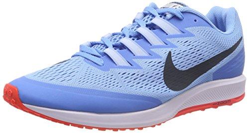 Nike Unisex-Erwachsene AIR Zoom Speed Rival 6 Laufschuhe, Blau Football/cramoisi Brillant/Renard Bleu, 42.5 EU