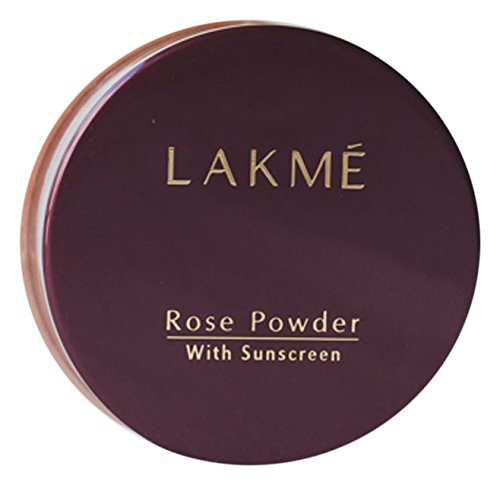 Lakme Rose Face Powder, Soft Pink, 40 g