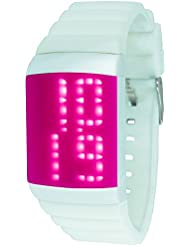 MADISON NEW YORK Unisex-Armbanduhr Candy Club Digital Automatik Silikon U4614-05