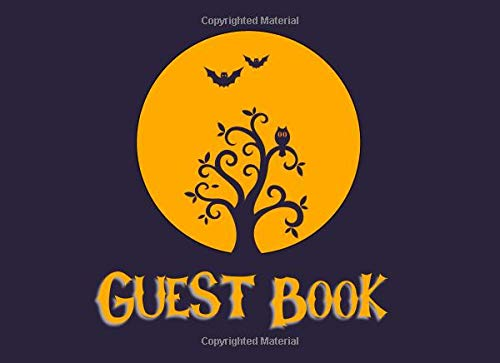 for Halloween! Sign-in Guest Registry Book For Spooky Parties And Meetups (Spooky Events Books, Band 2) ()