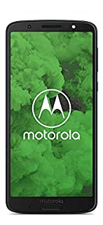 "Motorola Moto G6 Plus - Smartphone de 5.9"" (procesador de Ocho nucleos a 2.2 GHz, Memoria Interna de 4GB, Doble Cámara Inteligente de 12 MP y 5 MP), Color Azul índigo (B07CY7Y4B1) 