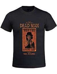 Neil Young Dead Man Men T Shirts Crew Neck Digital Printed XXXX-L