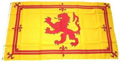 Fahne / Flagge Schottland Royal Wappen NEU 90 x 150 cm