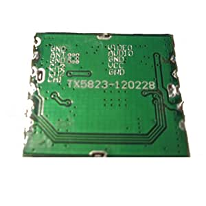 Boscam FPV 5.8G 200mW Wireless Audio Transmitter Module vidéo TX5823