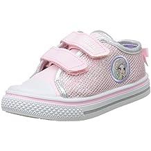 Disney Girls Kids Low Sneakers, Zapatillas Para Niñas
