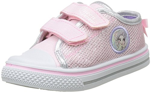 Frozen Girls Kids Low Sneakers, Zapatillas para Niñas, Rosa (Pink), 25 EU