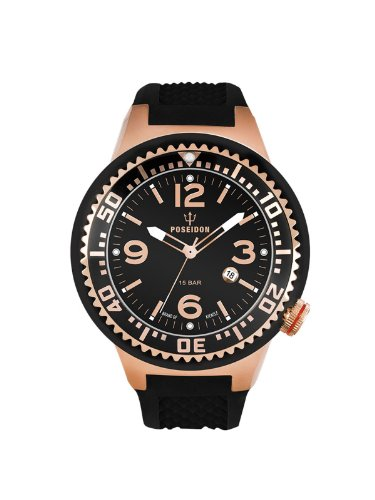 Kienzle Women's Quartz Watch POSEIDON S Slim K2103033093-00420 with Rubber Strap