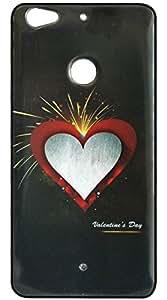 Vcare Shoppe Printed Back case cover for Letv Le 1s (Sparkle Effect Back Case Cover)