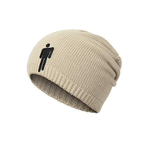 Abby Girls Wintermütze für Damen und Herren, Totenkopfmütze mit warmer kuscheliger Strickmütze