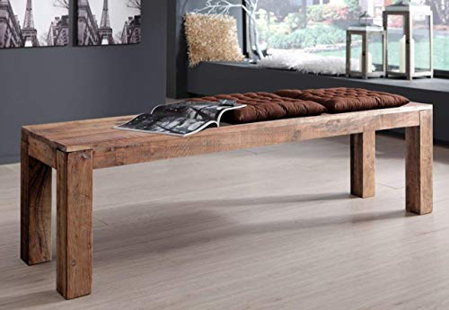 SAM Serie Christel, Bank, Highboard, Sideboard, Stuhl, Tisch, Truhe, Vitrine, Akazienholz Sandfarben