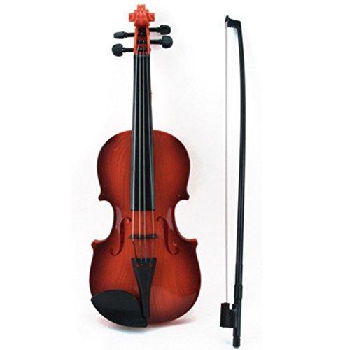 TOYMYTOY Kinder Geige Spielzeug Violine Musikinstrument Pädagogisches Spielzeug für Kinder (Zufällige Farbe)