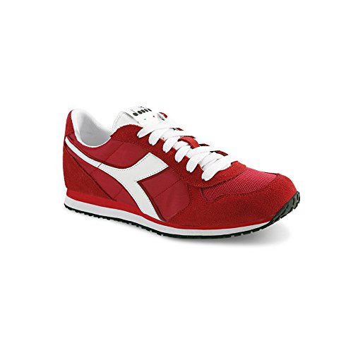 Diadora K_Run, Sneaker Unisex - Adulto Chinese Red