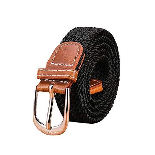 Reversible Seide Hosen (Vamoro Damen Leder Perlen Gürtel für Jeans Gürtel für Hosen Jeansgürtel Fashion Gürtel Breiter Taillengürtel Hüftgürtel Bindegürtel Stretchgürtel Ledergürtel in vielen Farben(F))