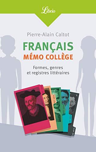 Français : mémo collège (French Edition) eBook: Pierre-Alain ...