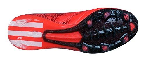 Adidas Performance F30 Fg Lea Scarpe Da Calcio Pelle Rosso Per Uomo Dribbletex Rosso