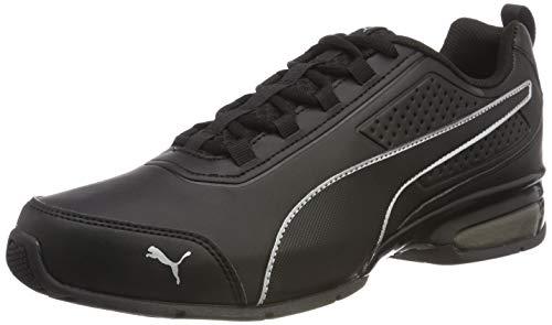 Puma Unisex-Erwachsene Leader VT SL Laufschuhe, Schwarz Black Silver 02, 40.5 EU (Schuhe Running Für Herren Puma)