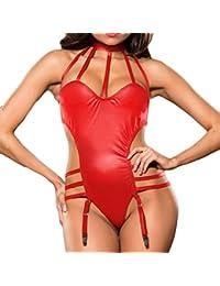 BOBOLover Lenceria Sexy Mujer, Lencería Sexy Lencería de Noche Ropa Erotica Mujer Sexy para Mujer