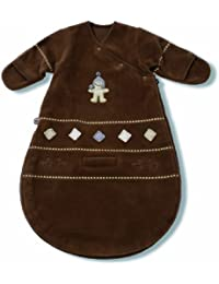 Baby Boum Pichu Fleece Sleeping Bag 1.7 Tog for 0-3 months Choco