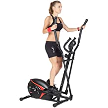 FYTTER CR-03R - Elíptica de fitness, color negro