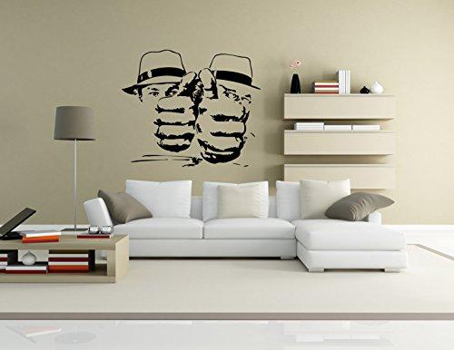 premiumadesivo-da-parete4pugni-contro-rio-77colore-e-dimensioni-a-scelta-fino-a-xxl-altezza-120cm-sc