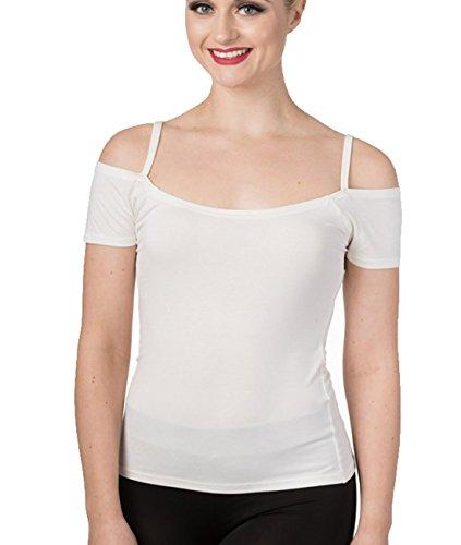 Banned - Canotta -  donna bianco Large
