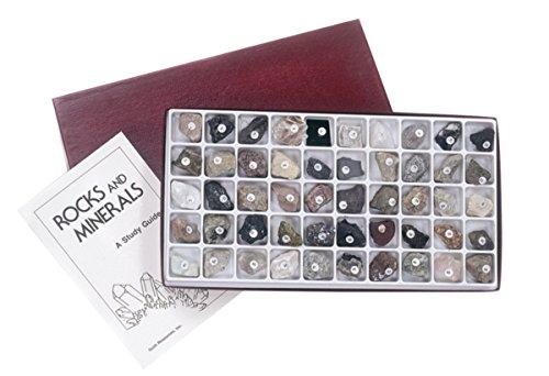 American Educational Klassenzimmer Collection von Felsen und Mineralien