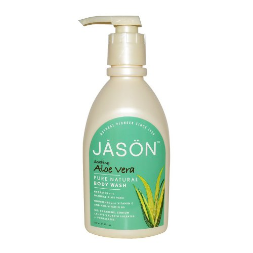 Aloe Vera Satin Body Wash with Pump - 900ml