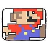 Borsa per portatile Mario Jumping [per Macbook Air 11 13 13.3] Borsa per portatile con cerniera Borsa per tablet, tessuto da sub, impermeabile