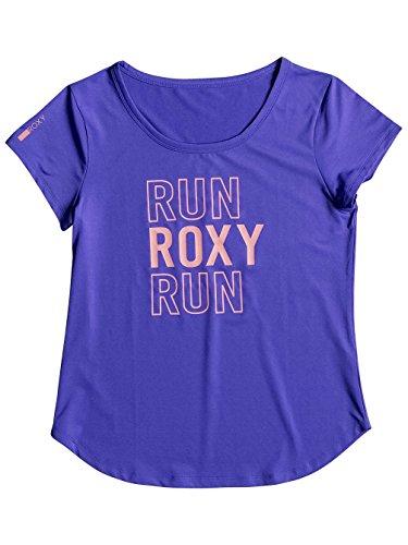 Roxy ERJKT03130-PQF0_S, Maglietta Donna Blu Royal