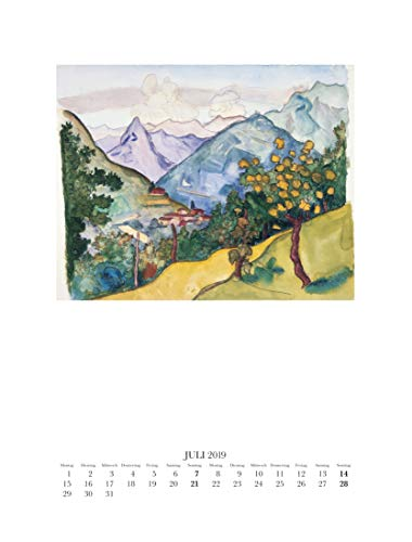Hermann Hesse Kalender 2019 - 4
