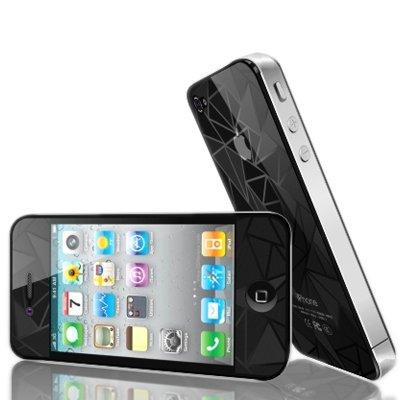 """thesmartguard """"Privacy Protection d'écran (avant) pour iPhone 5/5C/5S Schutzfolie - Dreiecke"""