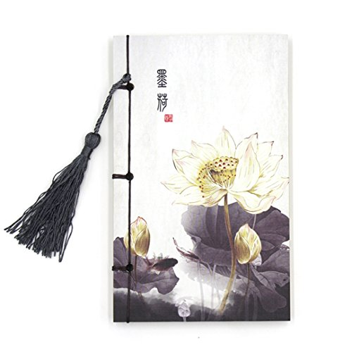 naovio Zeichnen Pad, chinesische Malerei Druck Hülle Handgefertigt Traditionelle Fadenbindung Papier Schreiben Journal Notebook