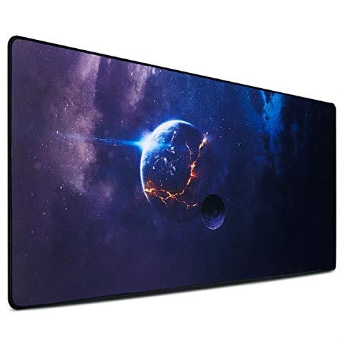 GIM Mauspad XXL Extra Groß Tischunterlage Wasserdicht Rutschfest für Gaming und Büro 900 x 400 x 3 mm (Pad 0 G 7)