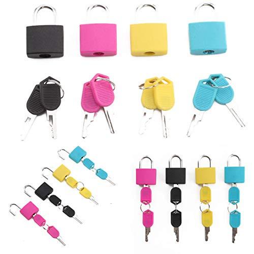 ROYALS Multicolor Luggage Lock  Set of 4