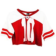UISSOS Camiseta Futbol Americano para Mujer diseño Estampado número ...