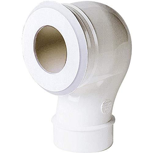 pipe coudée pour wc - diamètre 100 mm - sortie verticale - nicoll cwp33 c0d0e81464ba